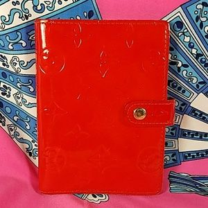 Authentic Louis Vuitton Vernis Agenda PM